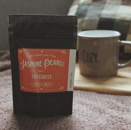 "An exclusive ""Firestarter"" tea from the Jasmine Pearl Tea Co."