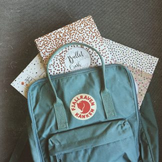 The Kånken backpack and everything to start a bullet journal!