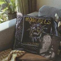 The Mongrels bandana and the crrrreepy artwork inspired by Nick Cutter's The Deep